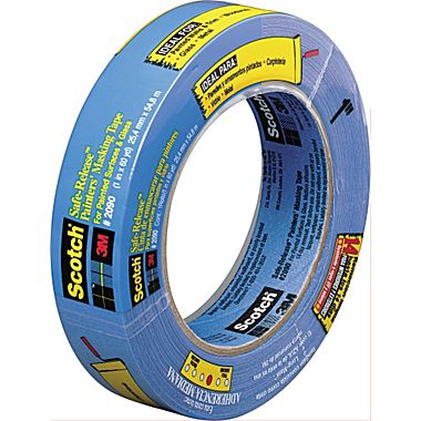 3m 2090 Scotch Blue Painter S Tape 1 5 X 60 Yds